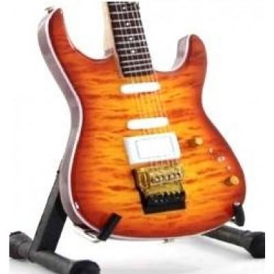 Dire Straits Mark Knopler Tribute Miniature Guitar
