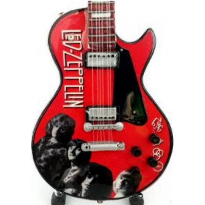 Led Zeppelin Tribute Miniature Guitar