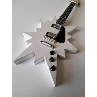 ABBA Star Guitar Tribute Miniature Guitar