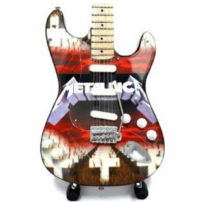 Metallica Tribute Miniature Guitar