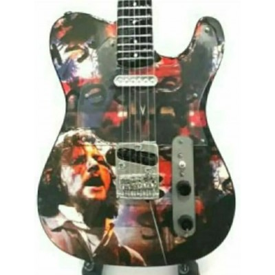 Pearl Jam Eddie Vedder Tribute Miniature Guitar