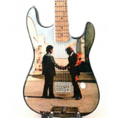 Pink Floyd Wish Tribute Miniature Guitar