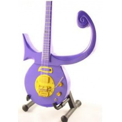 Prince Purple Symbol Tribute Miniature Guitar