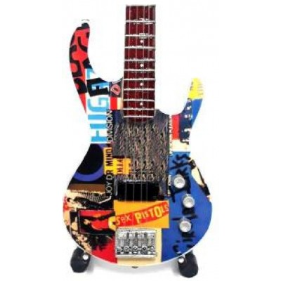 Red Hot Chilli Peppers Tribute Miniature Guitar