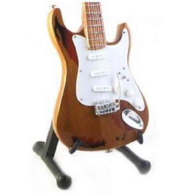 Rory Gallagher Tribute Miniature Guitar