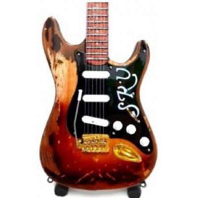 Stevie Ray Vaughan Tribute Miniature Guitar