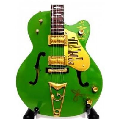 Bono U2 Tribute Miniature Guitar