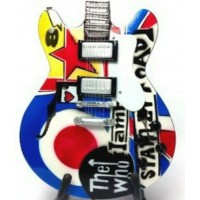 The Who Mods Tribute Miniature Guitar