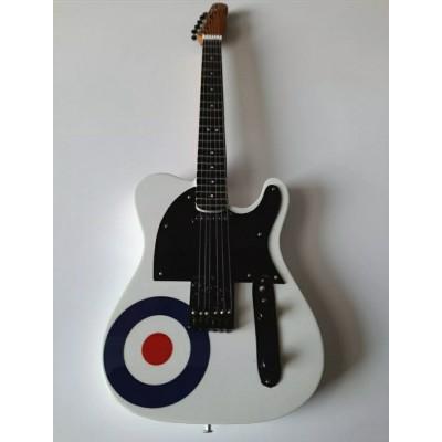 The Who Tribute Miniature Guitar Target
