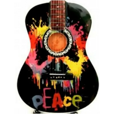 Woodstock Love Tribute Miniature Guitar