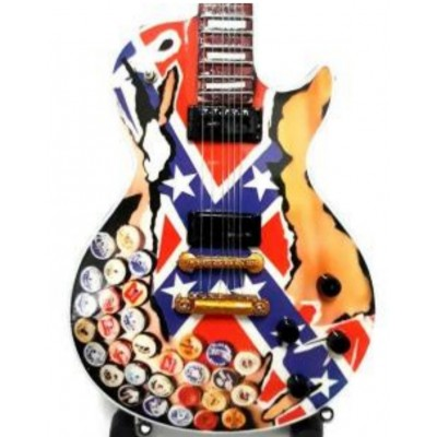 Zakk Wylde Beer can Tribute Miniature Guitar