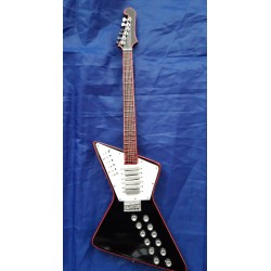 "Rick Nielsen Cheap Trick 10"" Miniature Tribute Guitar"
