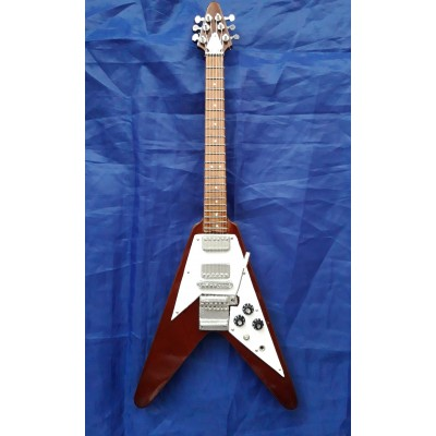 "Marc Bolan Flying V 10"" Miniature Tribute Guitar"