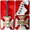 "Ian Hunter Maltese Cross 10"" Miniature Tribute Guitar"