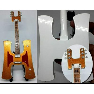 "Ian Hunter Iconic H 10"" Miniature Tribute Guitar"
