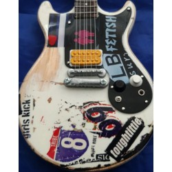 "Joan Jett 10"" Miniature Tribute Guitar"