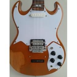 "Motorhead Rickenbasstard 10"" Miniature Tribute Guitar"