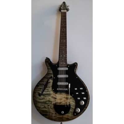 """Queen Brian May 'The Badger' 10"""" Miniature Tribute Guitar"""