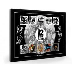 2Tone Records Plectrum 45rpm tribute Set Display