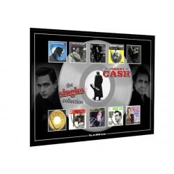 Johnny Cash Plectrums 45rpm tribute Set Display