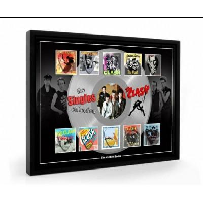 The Clash Plectrum 45rpm tribute Set Display