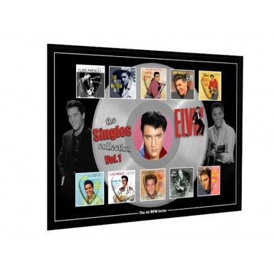 Elvis Vol 1 Plectrum 45rpm tribute Set Display