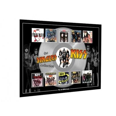 Kiss Plectrum 45rpm tribute Set Display