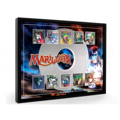 Marillion Plectrum 45rpm tribute Set Display