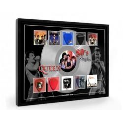 Queen 80s Plectrum 45rpm tribute Set Display