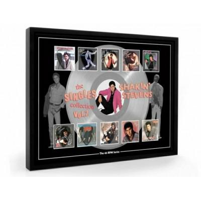 Shakin Stevens Vol II Plectrum 45rpm tribute Set Display