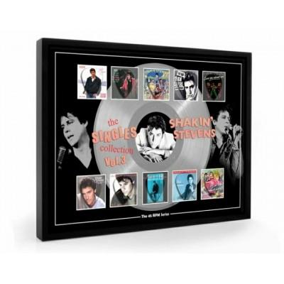 Shakin Stevens Vol 3 Plectrum 45rpm tribute Set Display