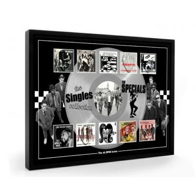 The Specials Plectrum 45rpm tribute Set Display