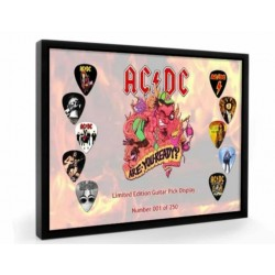 AC/DC Tribute Plectrum Display