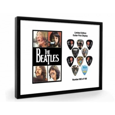 Beatles The Tribute Plectrum Display