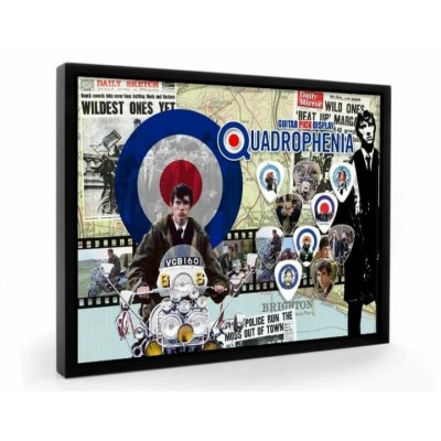 Quadrophenia Tribute Plectrum Display