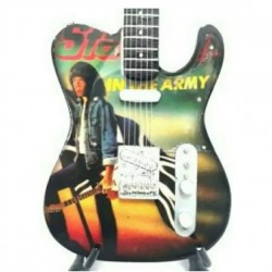 """Status Quo In The Army Now 10"""" miniature guitar"""